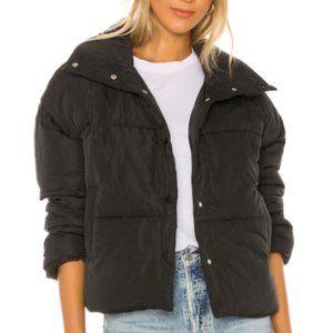 NWT Free People Weekender Puffer Jacket Black M